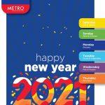 عروض مترو ماركت للسنة الجديدة حتى 31 ديسمبر على السلع الغذائية والشيكولاتة واللحوم