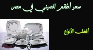اسعار اطقم الصيني في مصر