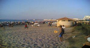 شاطئ المعمورة بالإسكندرية